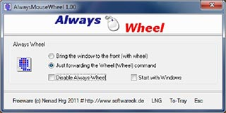 Always Mouse Wheel Software