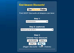 Zon Discount Finder image